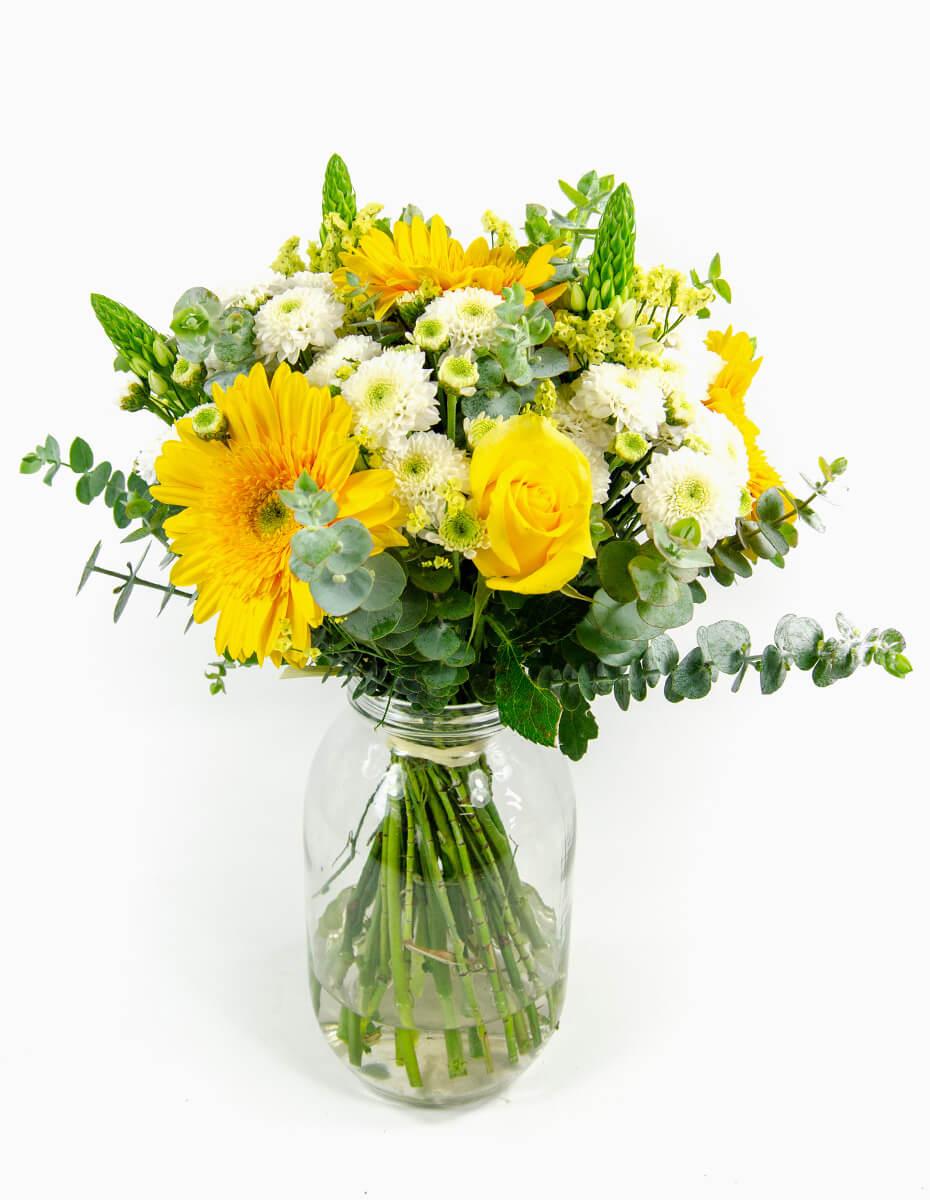 Escolha do Florista Tons Amarelos - Médio